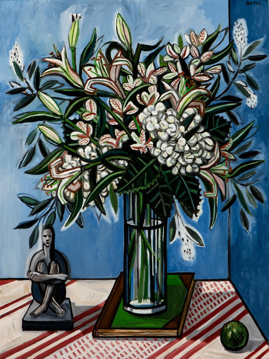 David Bates, Hydrangeas and Lilies, 2015