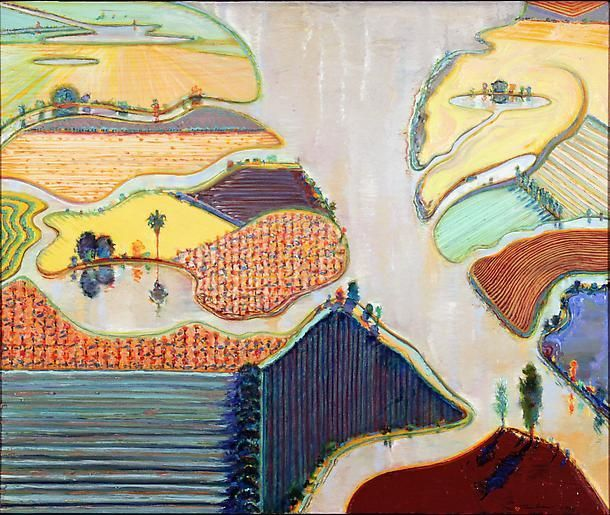 Wayne Thiebaud Delta Farms, 1996