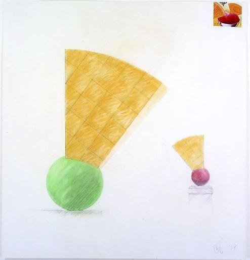 Claes Oldenburg Boule with Eventail