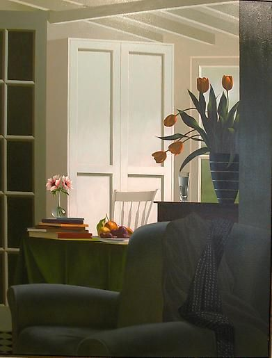Bruce Cohen Untitled, Interior with Chair, Coat and Scarf