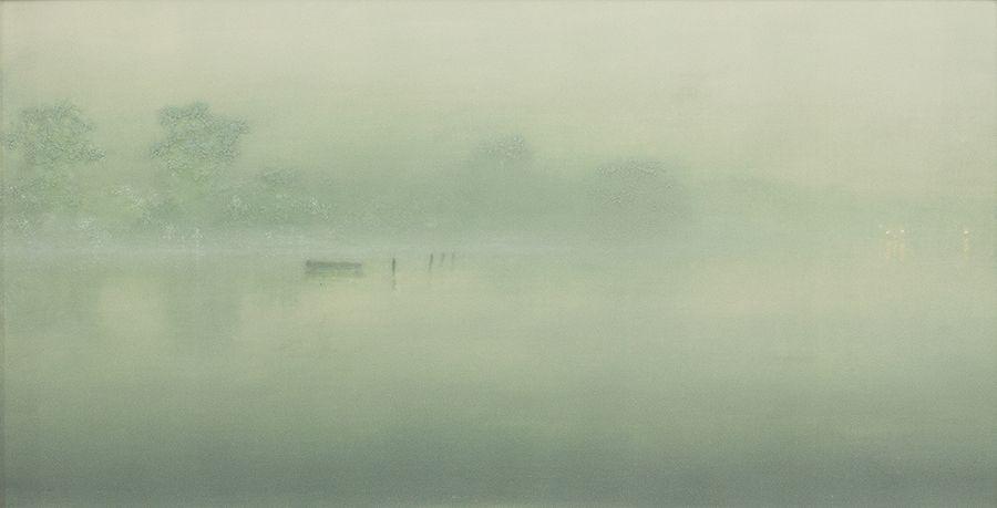 Stephen Hannock Flooded River - Iridescent Dawn, 2000