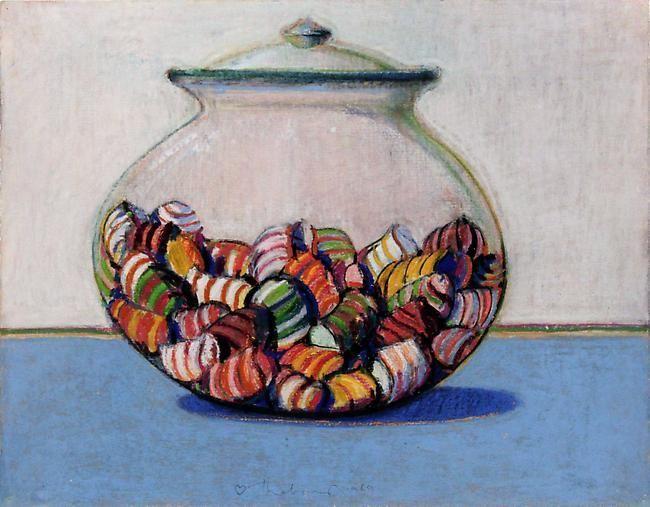 Wayne Thiebaud Glassed Candy, 1969