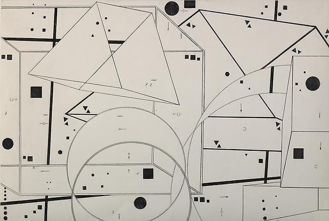 76-2 1976 graphite on paper