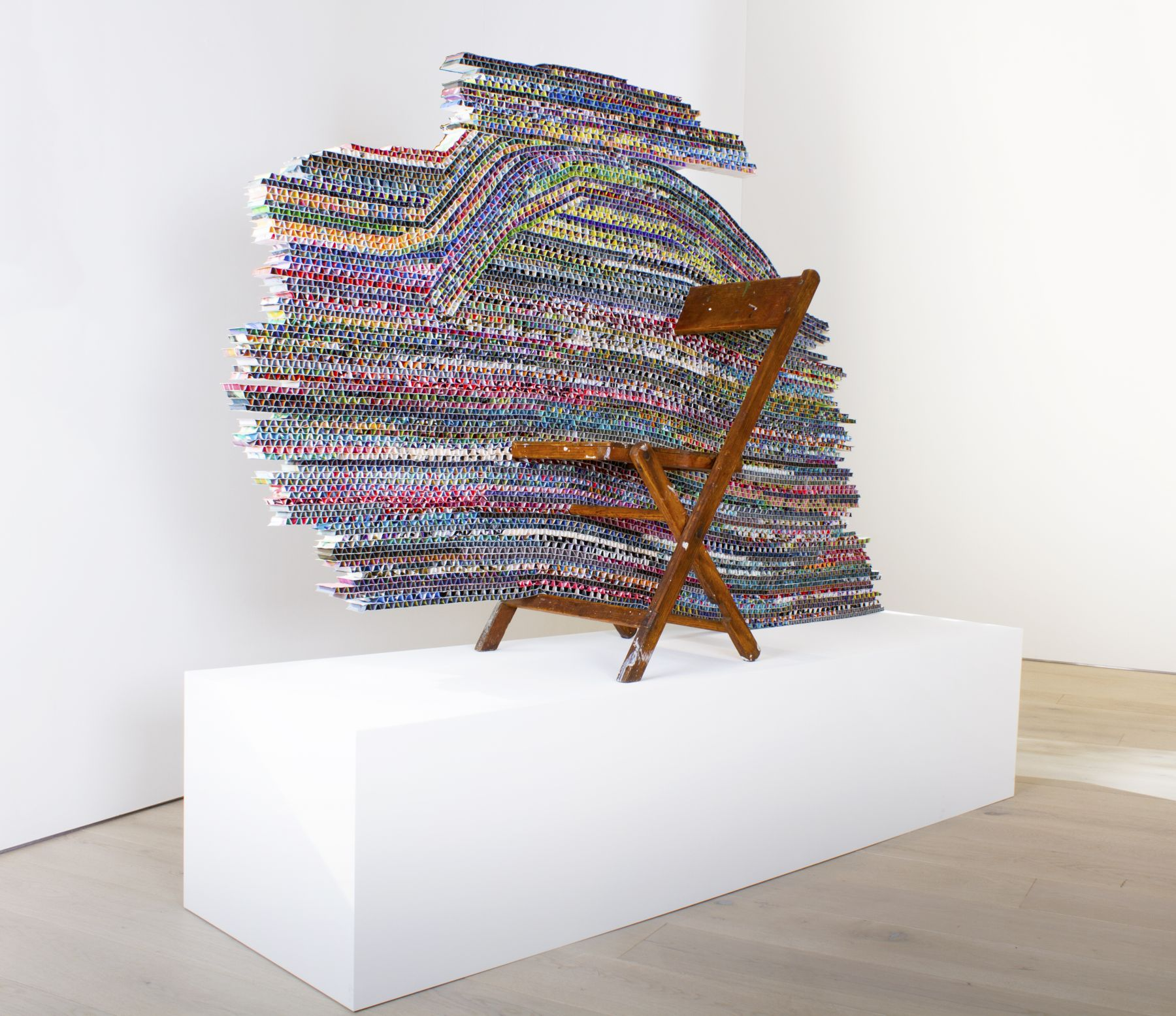 Mark Fox Untitled (Chair), 2011