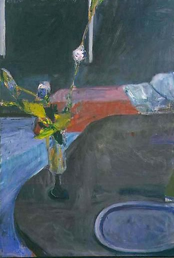 Richard Diebenkorn Interior: With Flowers