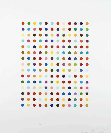 Damien Hirst Ethidium Bromide Aques Solution