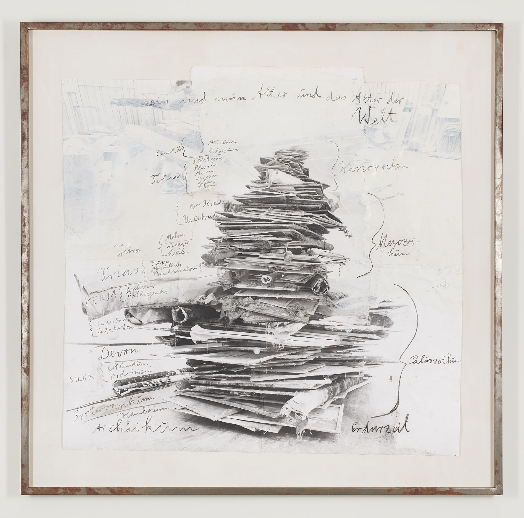 AnselmKiefer My time and your time and the time of the world, 2005