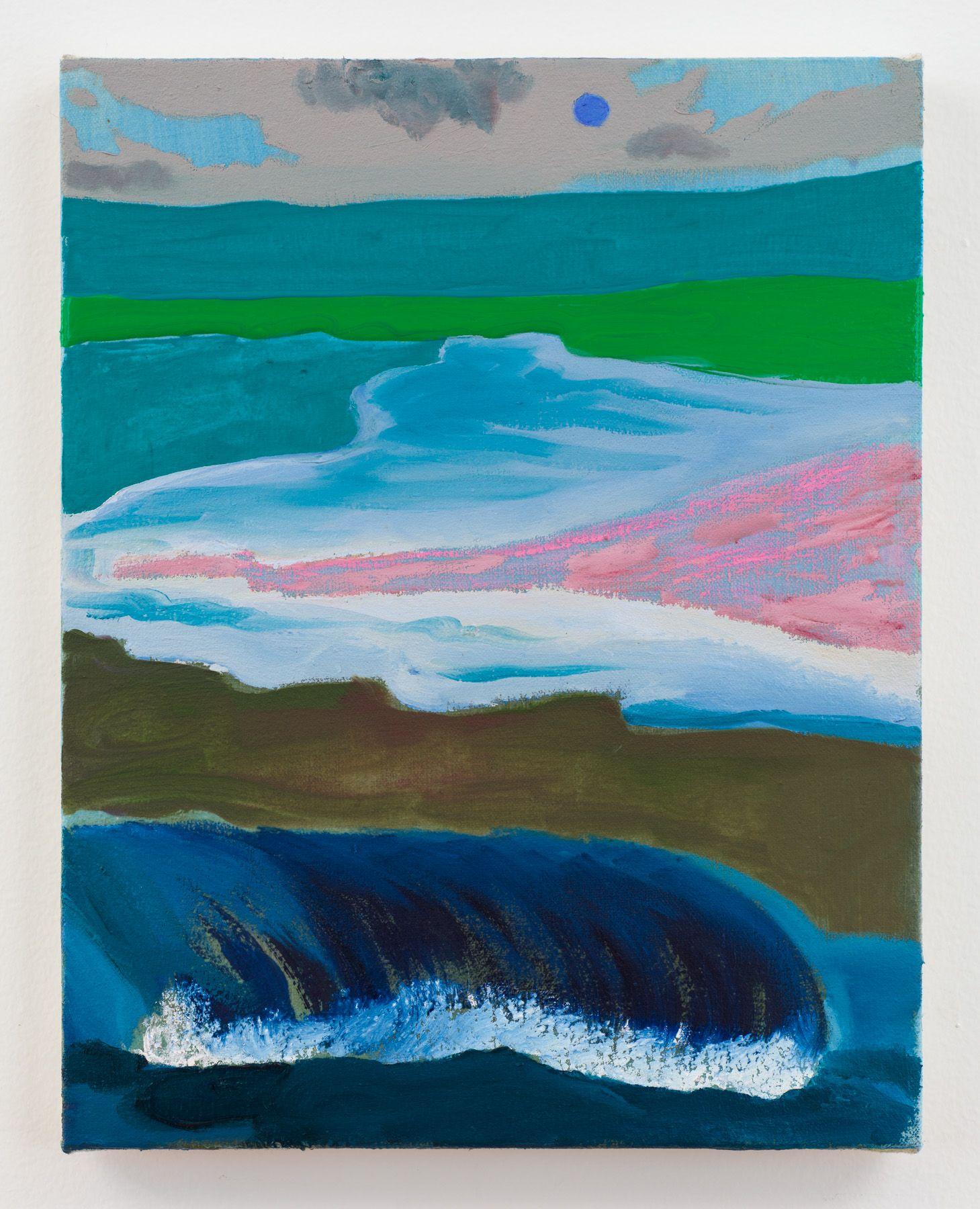 Crash, 2018 Oil and acrylic on canvas