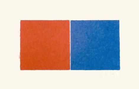 Untitled (Red and Blue Squares) 1976