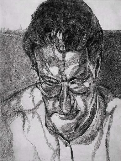 Lucian Freud The Painter's Doctor