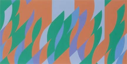 Bridget Riley Further Revision 17 June, Bassacs'