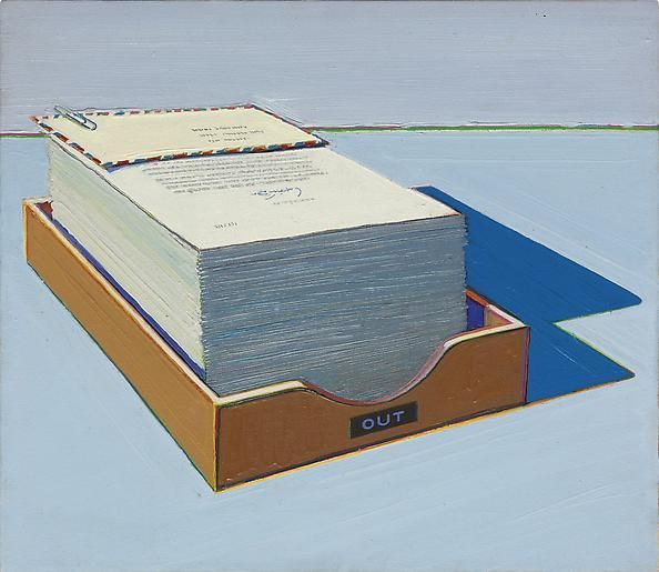 Wayne Thiebaud Out Box #1, 1972