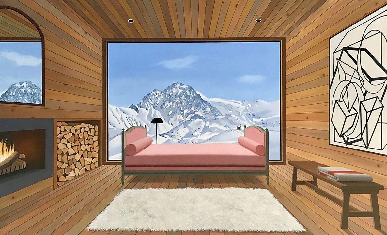 French Mountain Interior, 218