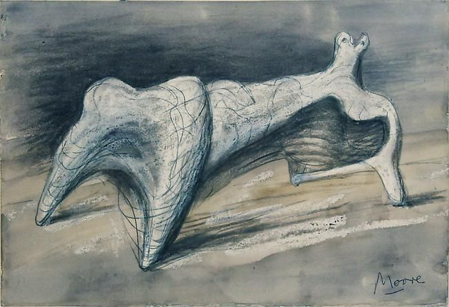 Henry Moore, Idea for Metal Sculpture, 1980