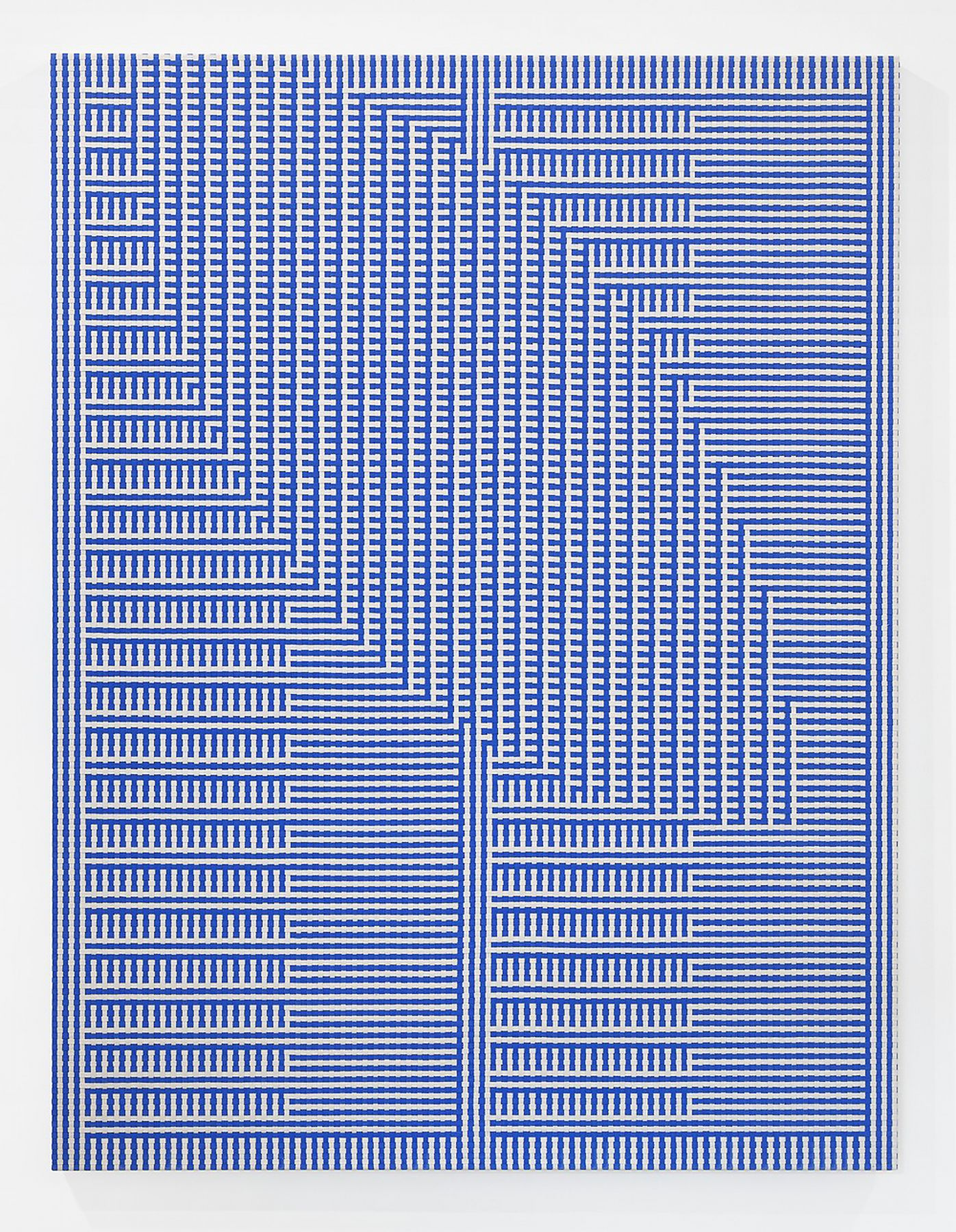 Tauba Auerbach, Shadow Weave - Comb/Void I, 2013