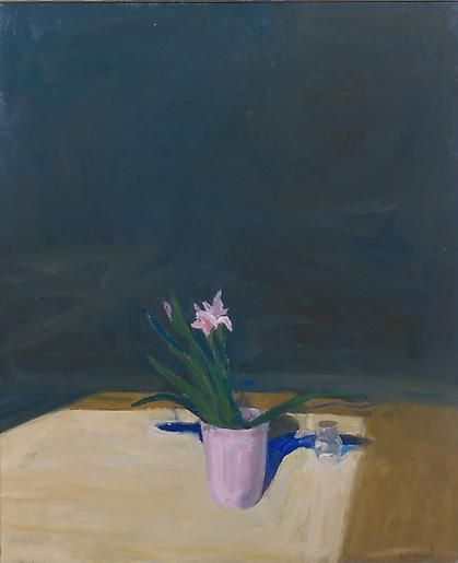 Paul Wonner Still Life with Iris
