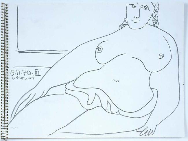 Seated Woman 13.11.70 III
