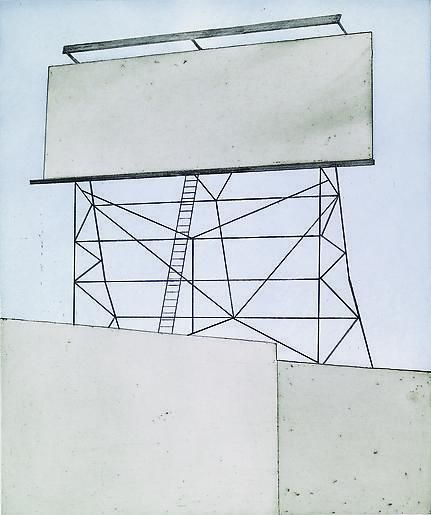 Ed Ruscha Your Space On Building