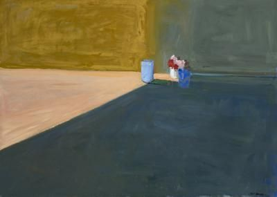Paul Wonner Objects on Floor