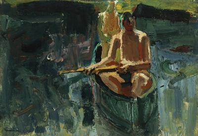 David Park Canoe