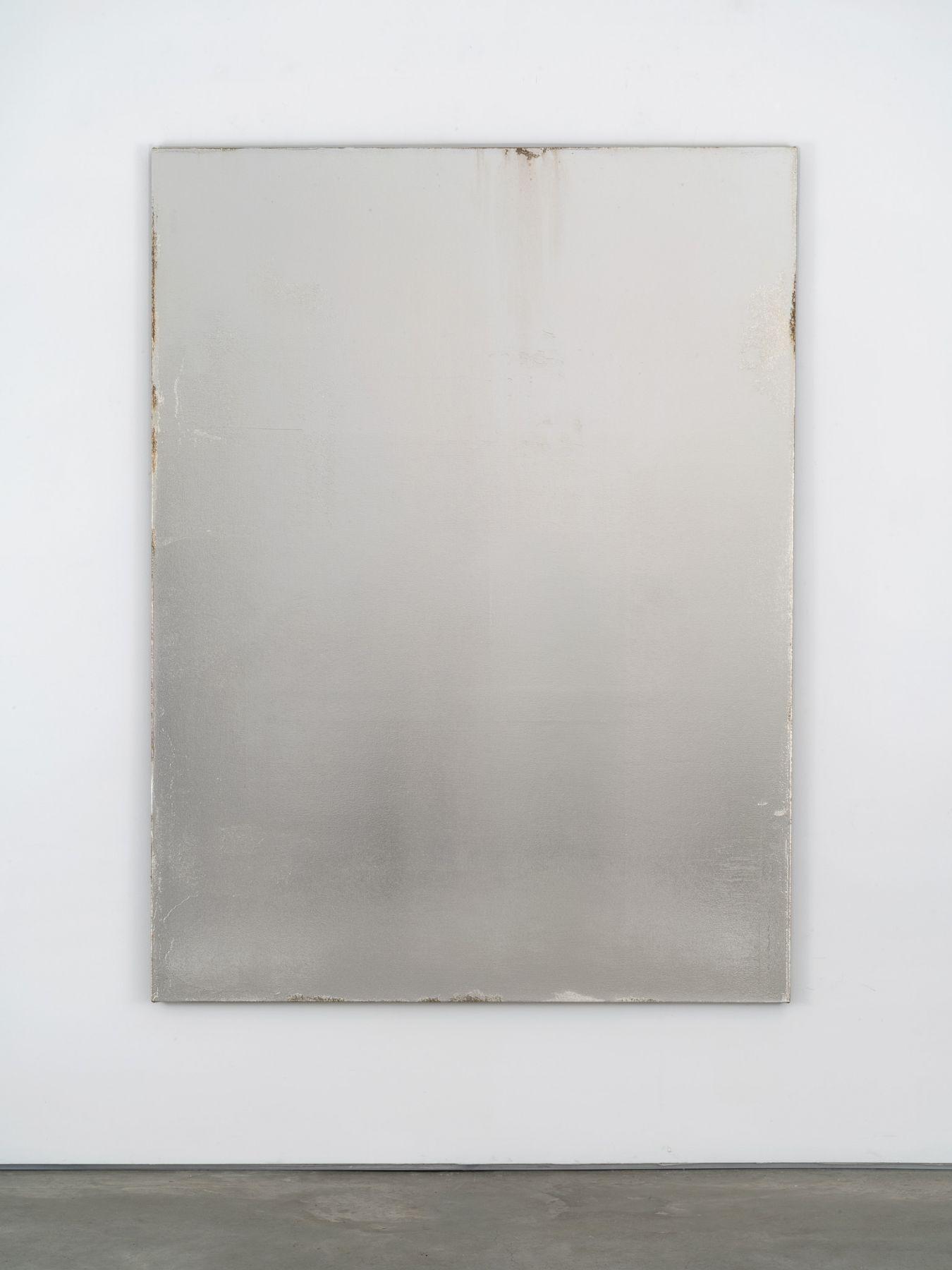Jacob Kassay, Untitled, 2018
