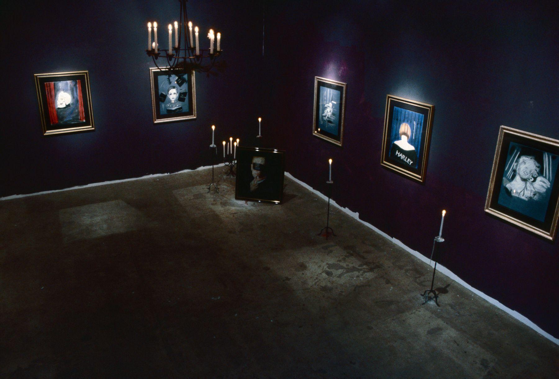Karen Kilimnik, Installation view: 303 Gallery, 1993