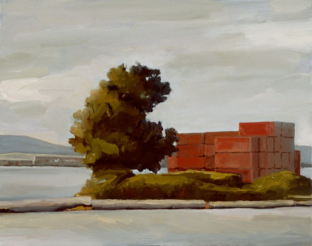Derek Root, Red Containers, 2005