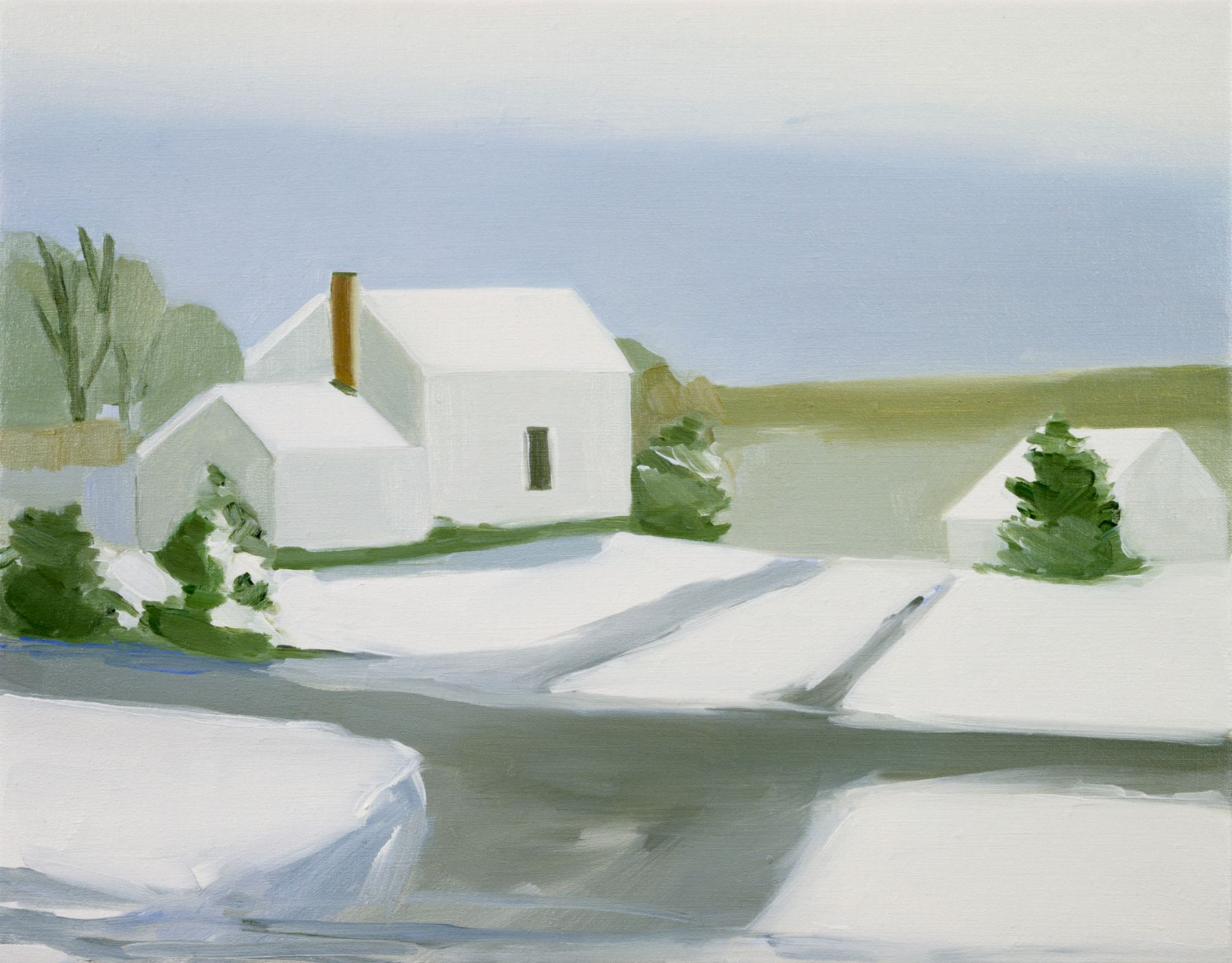 Maureen Gallace, Down the Road from my Brother's House, 2002