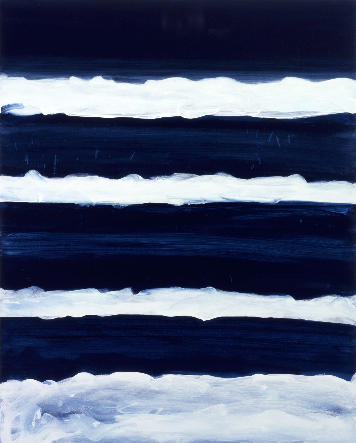Mary Heilmann, Night Swimmer, 1998