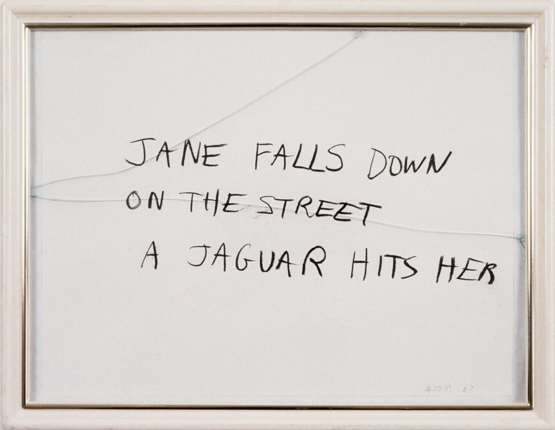 Karen Kilimnik, Jane Creep (Jaguar), 1989-1990