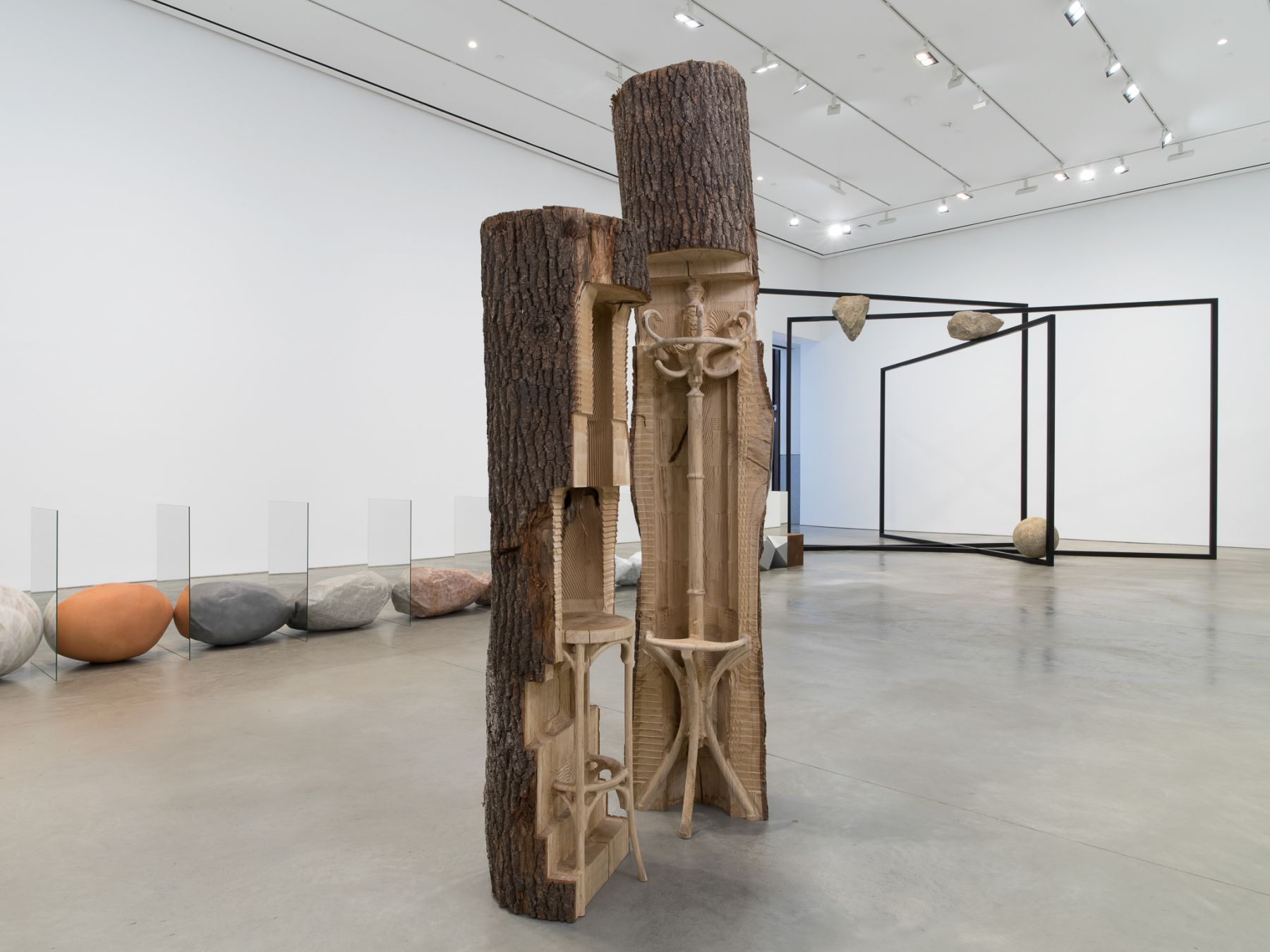 Installation view: Alicja Kwade,ParaParticular, 303 Gallery, New York, 2019