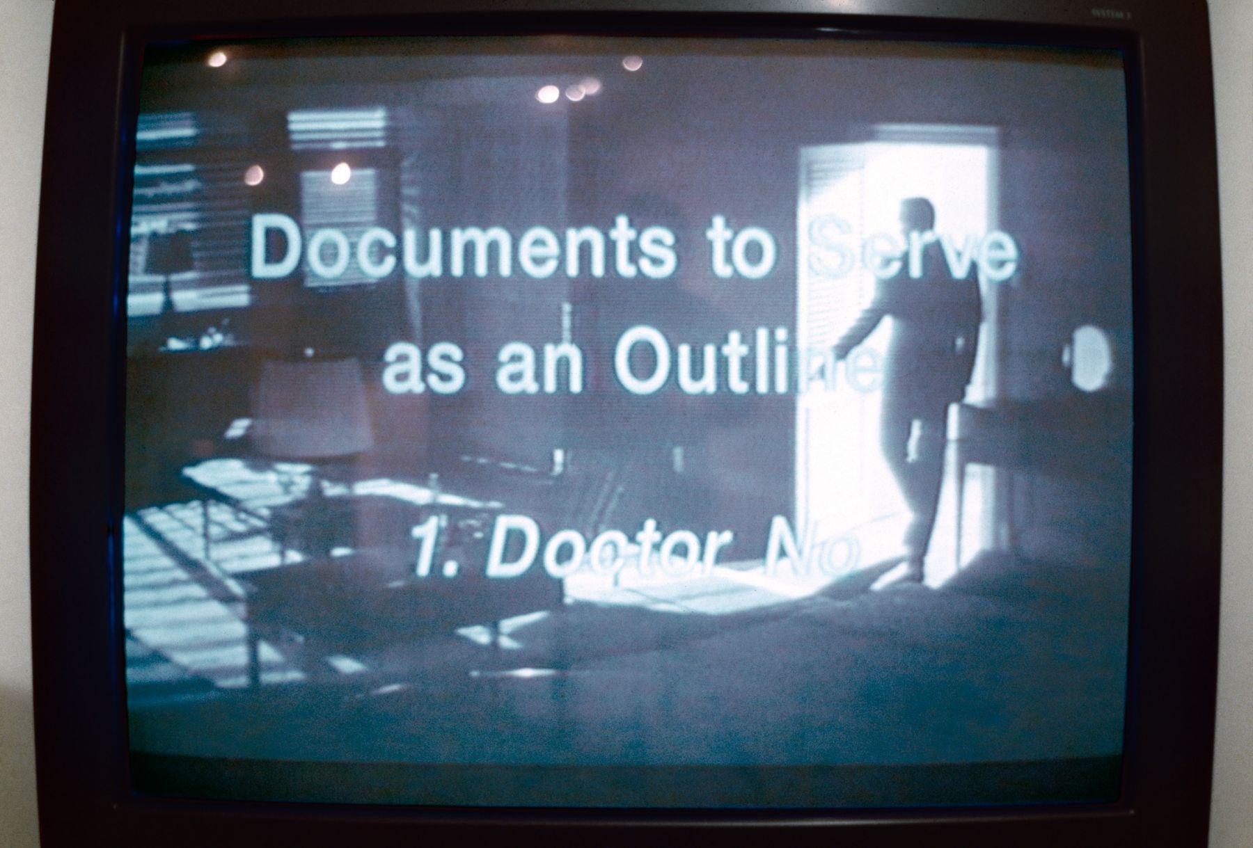 Rodney Graham, Dr. No, 1995
