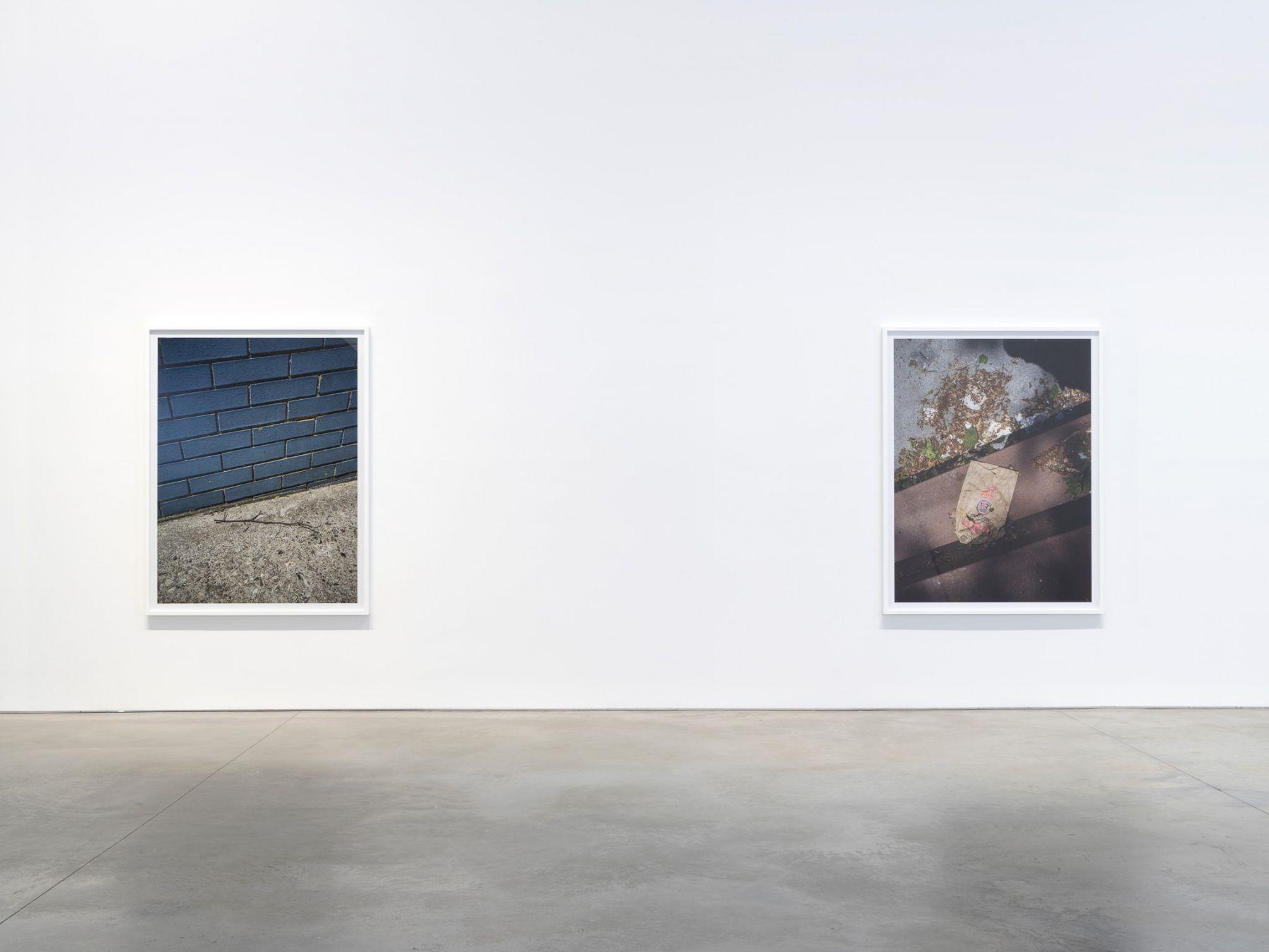 Installation view: Stephen Shore, 303 Gallery, New York, 2018