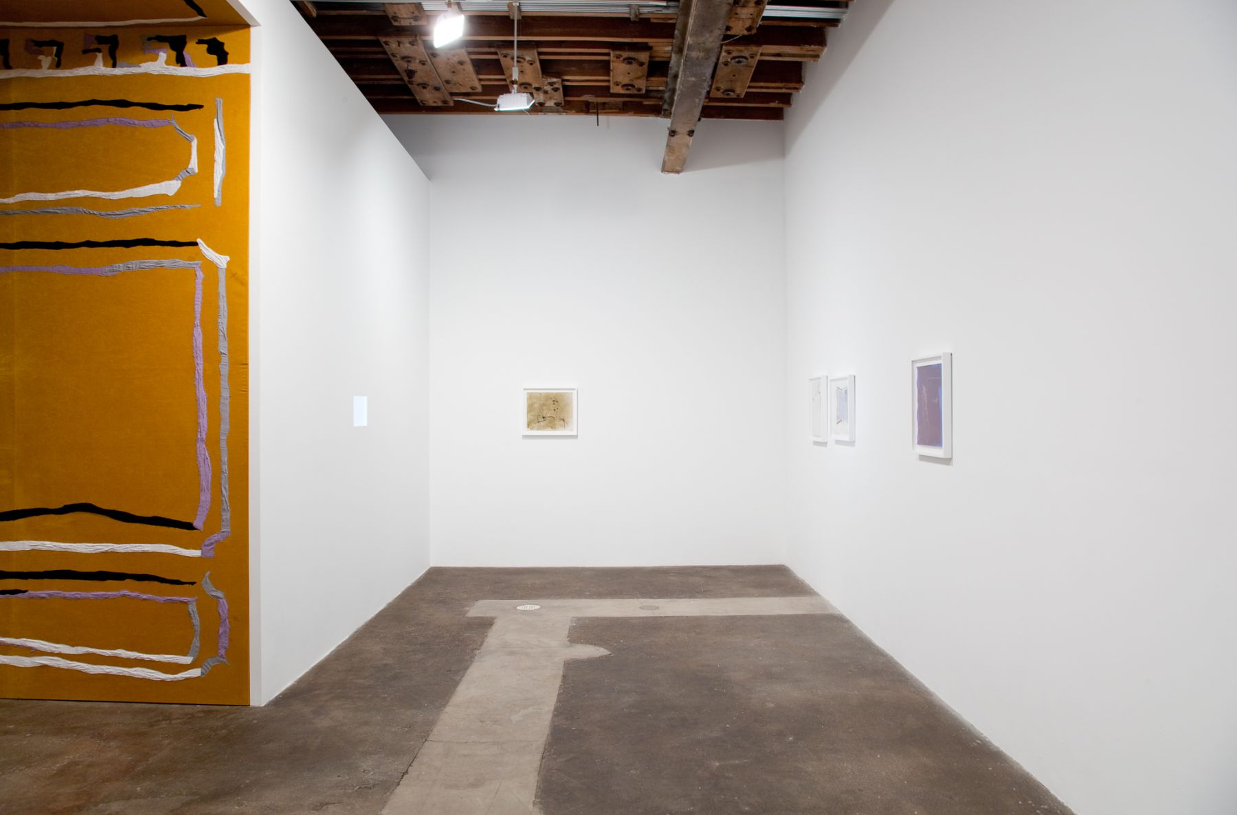 Nick Mauss, Installation view: Perforations