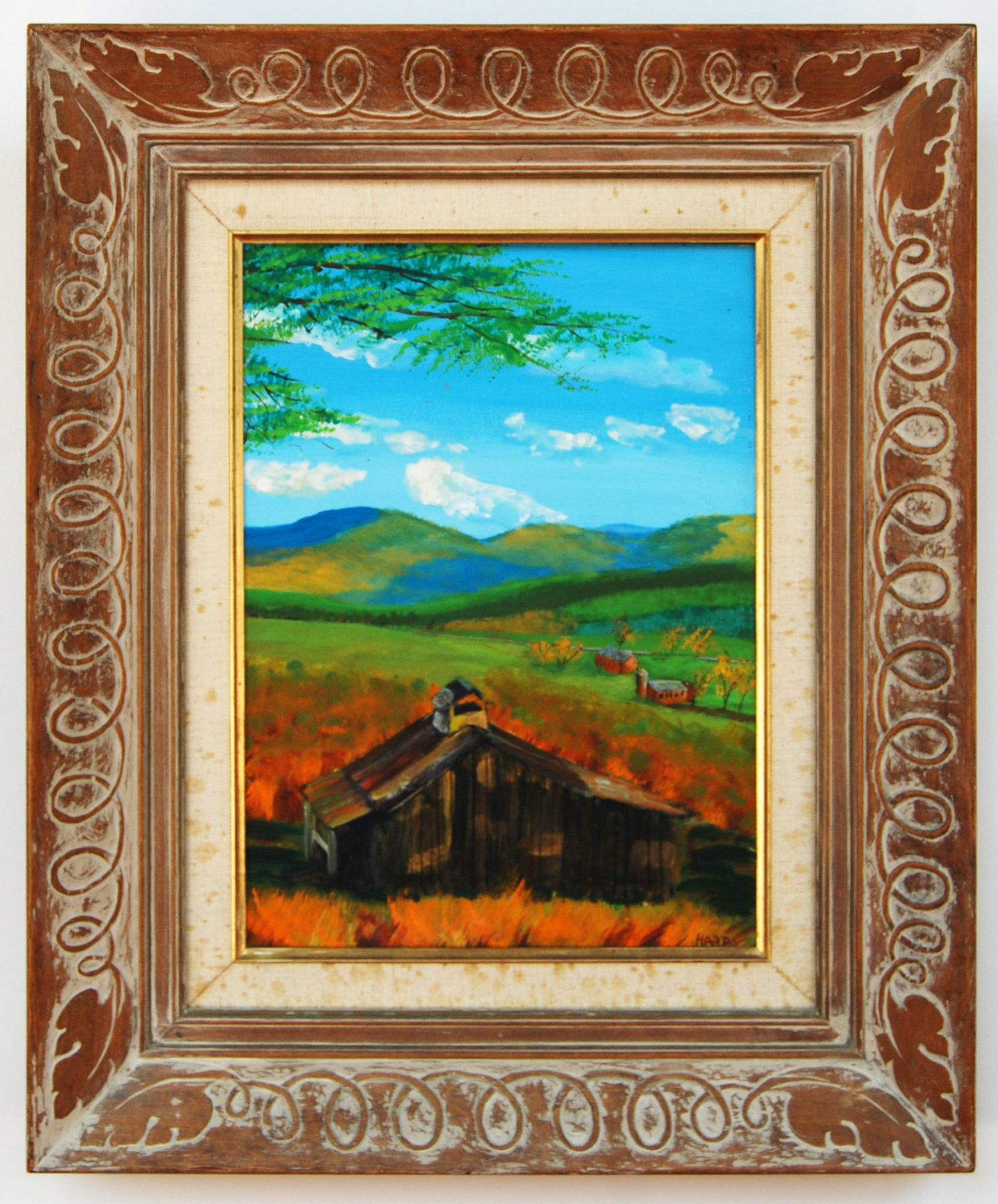 Harpo Marx, Untitled Midwest Landscape