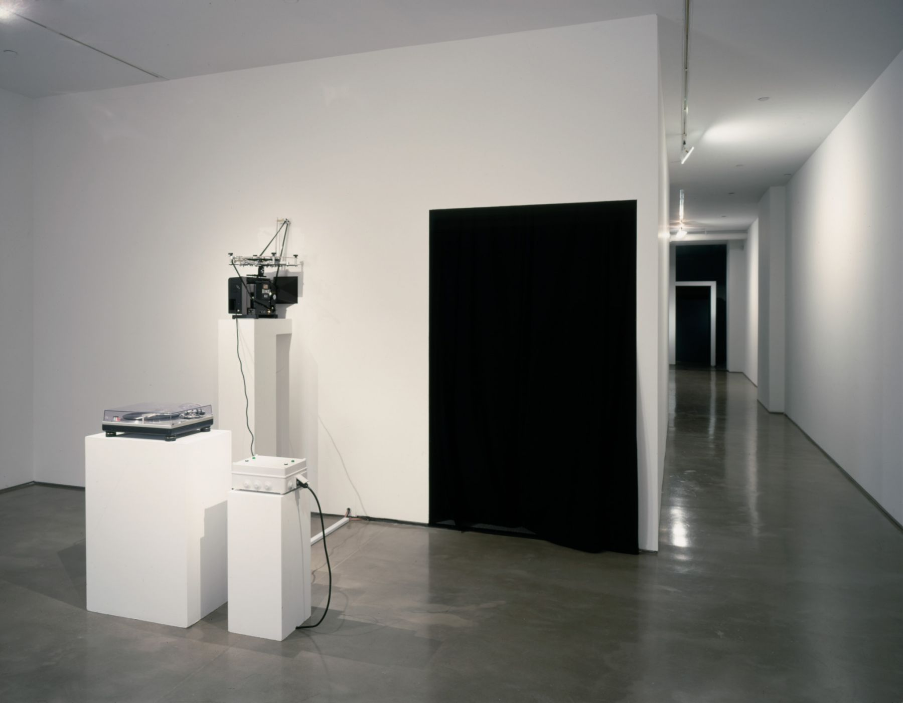 Rodney Graham, Installation view: The Phonokinetoscope, 303 Gallery, New York