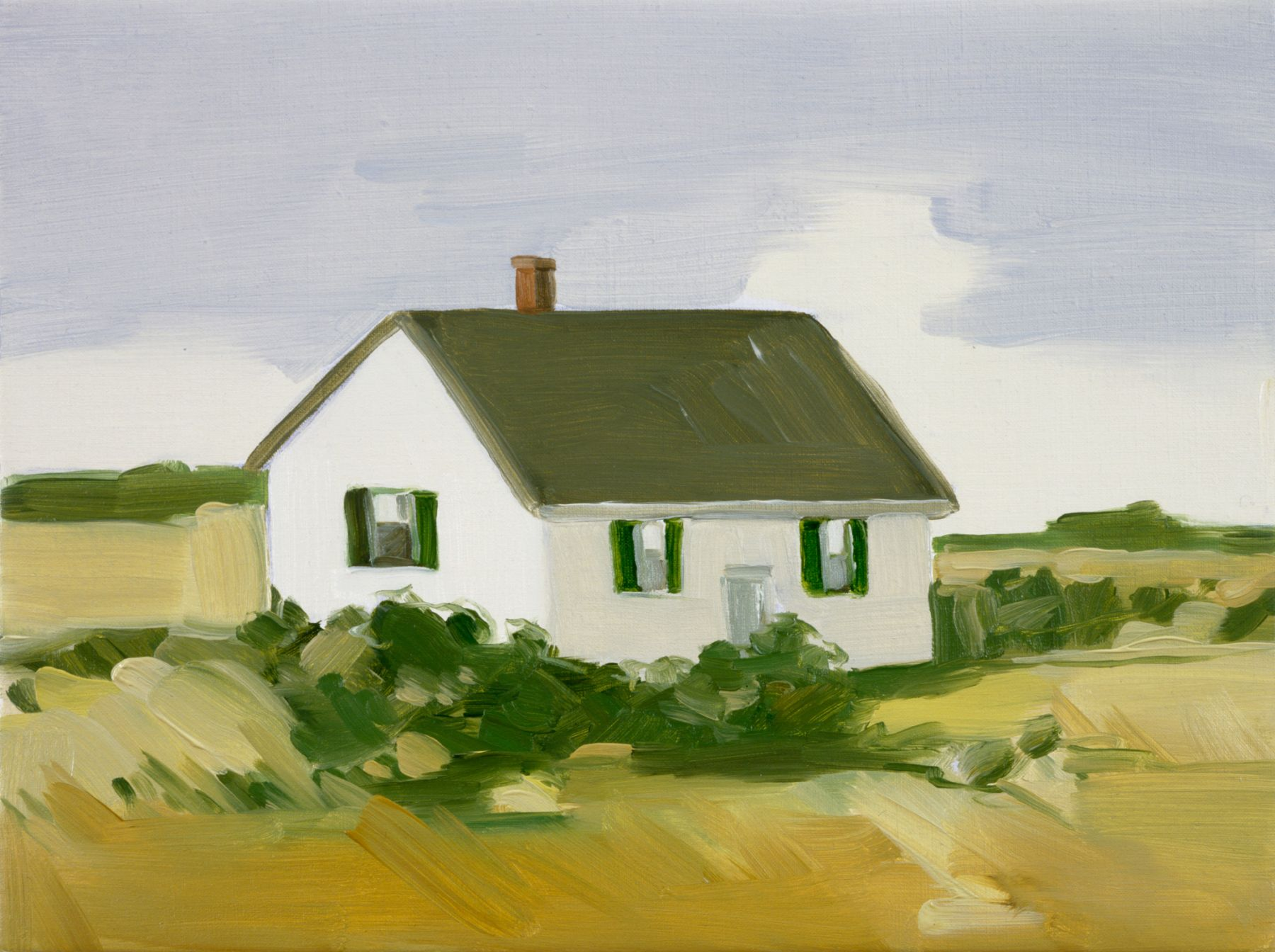 Maureen Gallace, Yellow Field, Easton, Ct., 2002