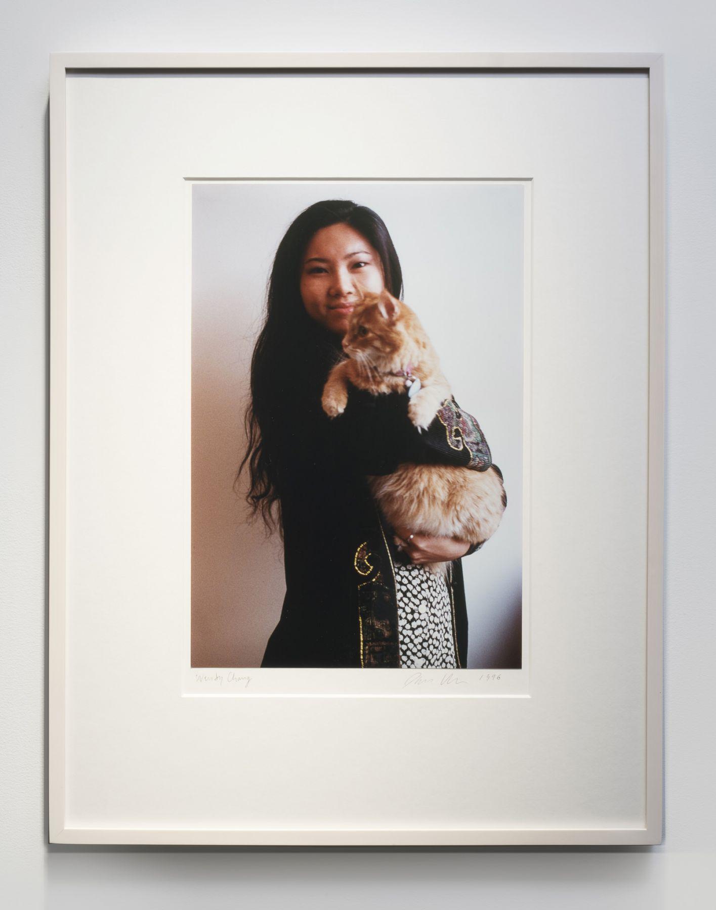 Dan Graham, Wendy with Cat, 1996