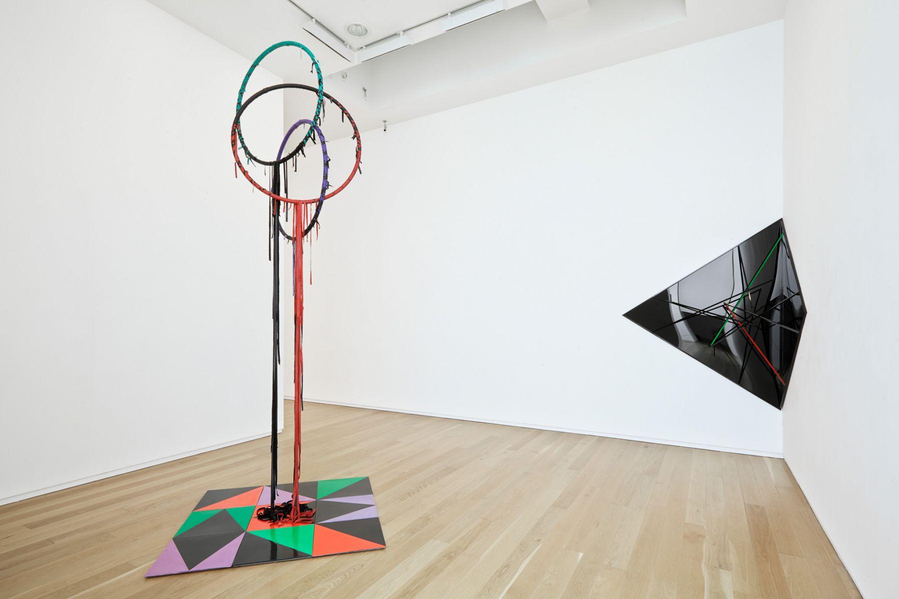 Eva Rothschild, Installation view: Dublin City Gallery, The Hugh Lane, 2014