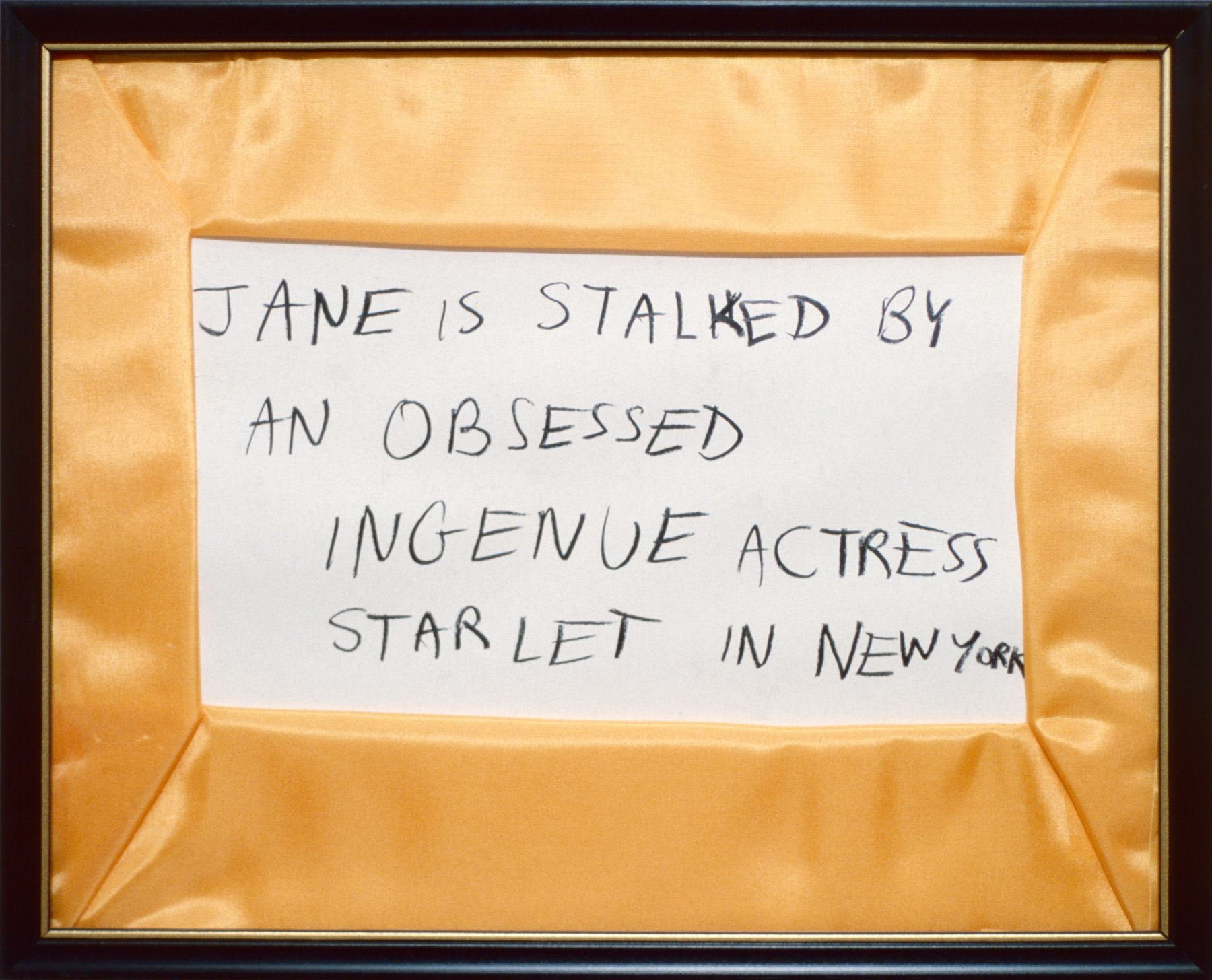 Karen Kilimnik, Jane Creep (Ingenue), 1989-1990