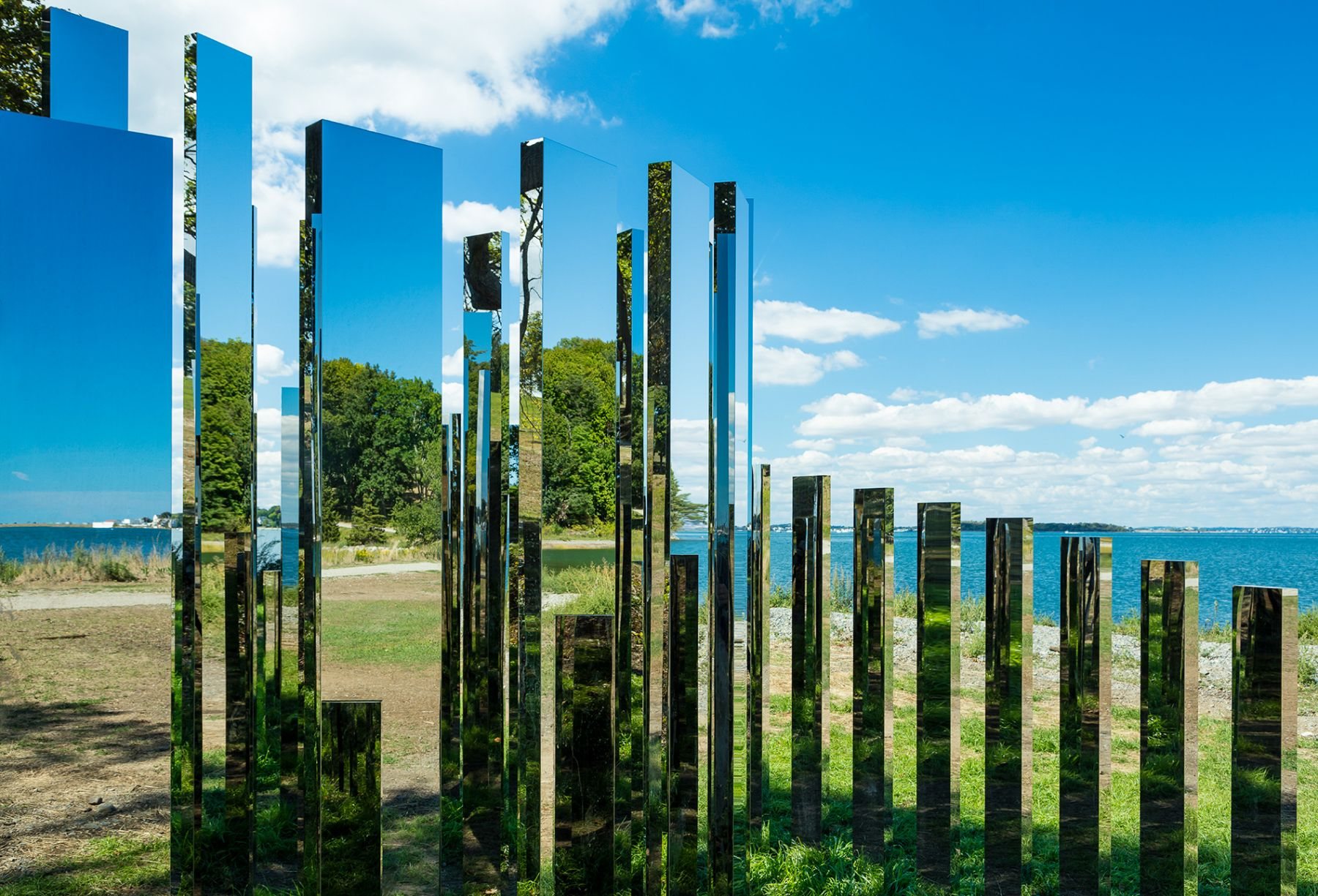 Jeppe Hein, A New End, 2016