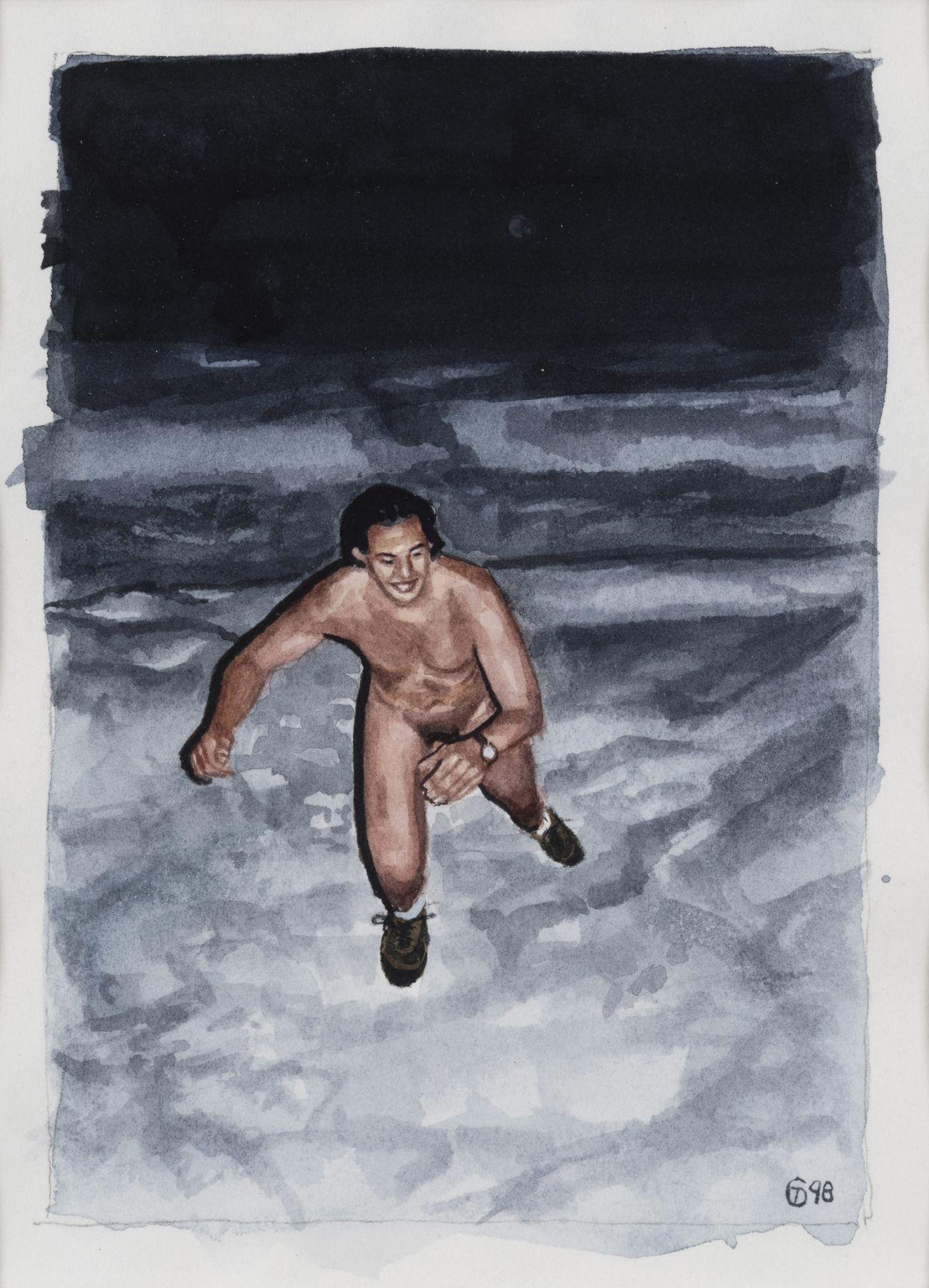 Tim Gardner, Untitled (Naked Runner)