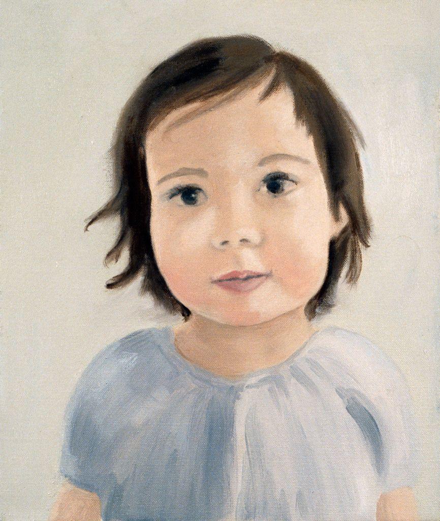 Shannon Oksanen, Ivy in Blue Dress, 2005