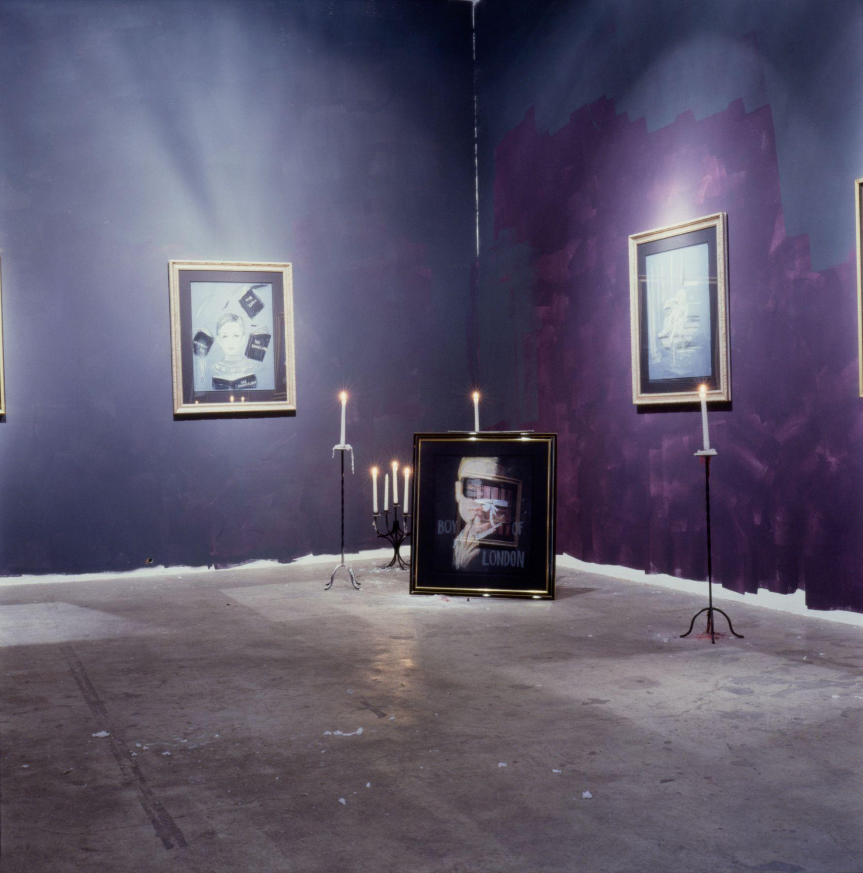Karen Kilimnik, Installation view: 303 Gallery, New York, 1993