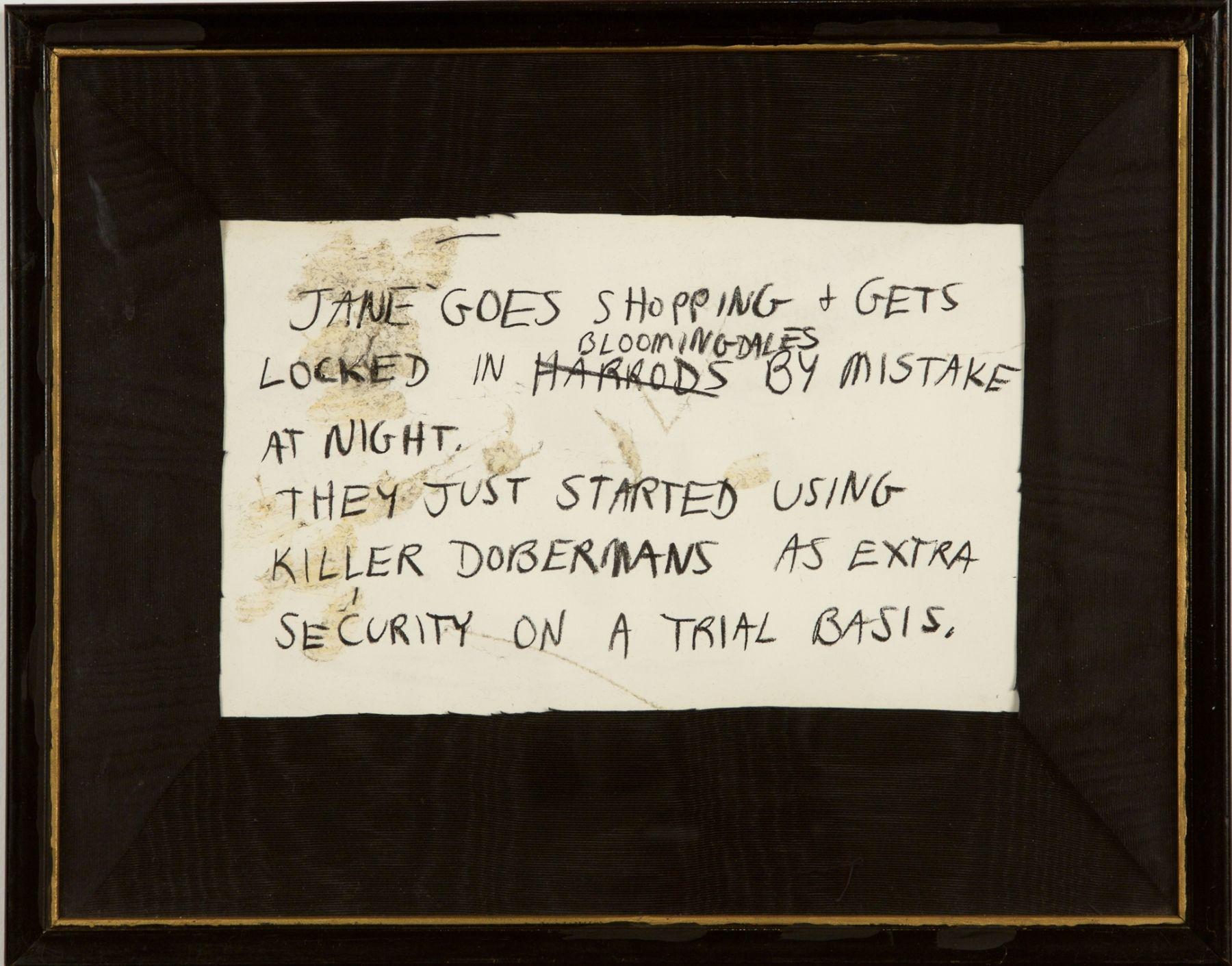 Karen Kilimnik, Jane Creep (Shopping), 1989-1990