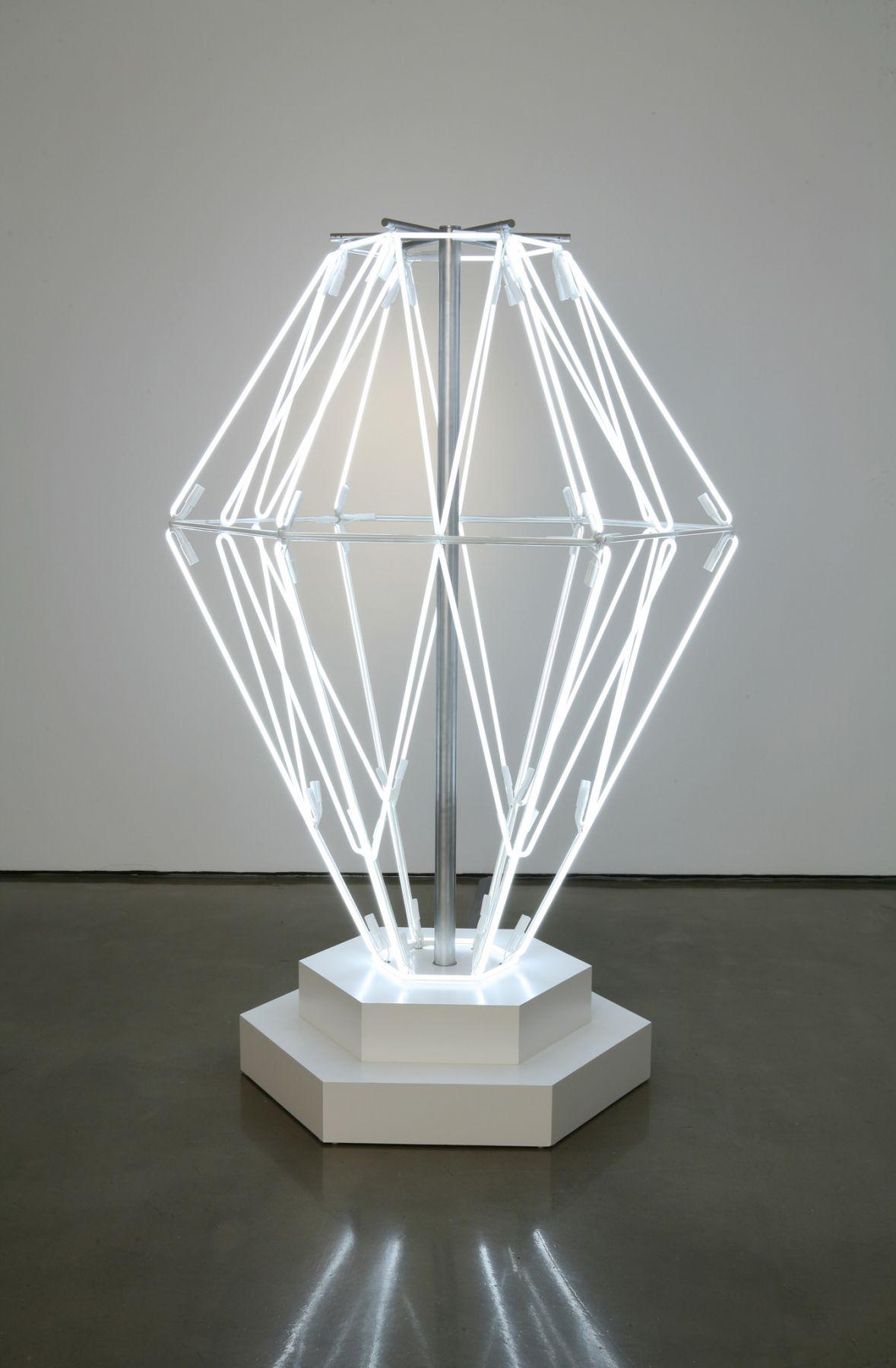 Doug Aitken, beautiful and damned (diamond neon), 2007