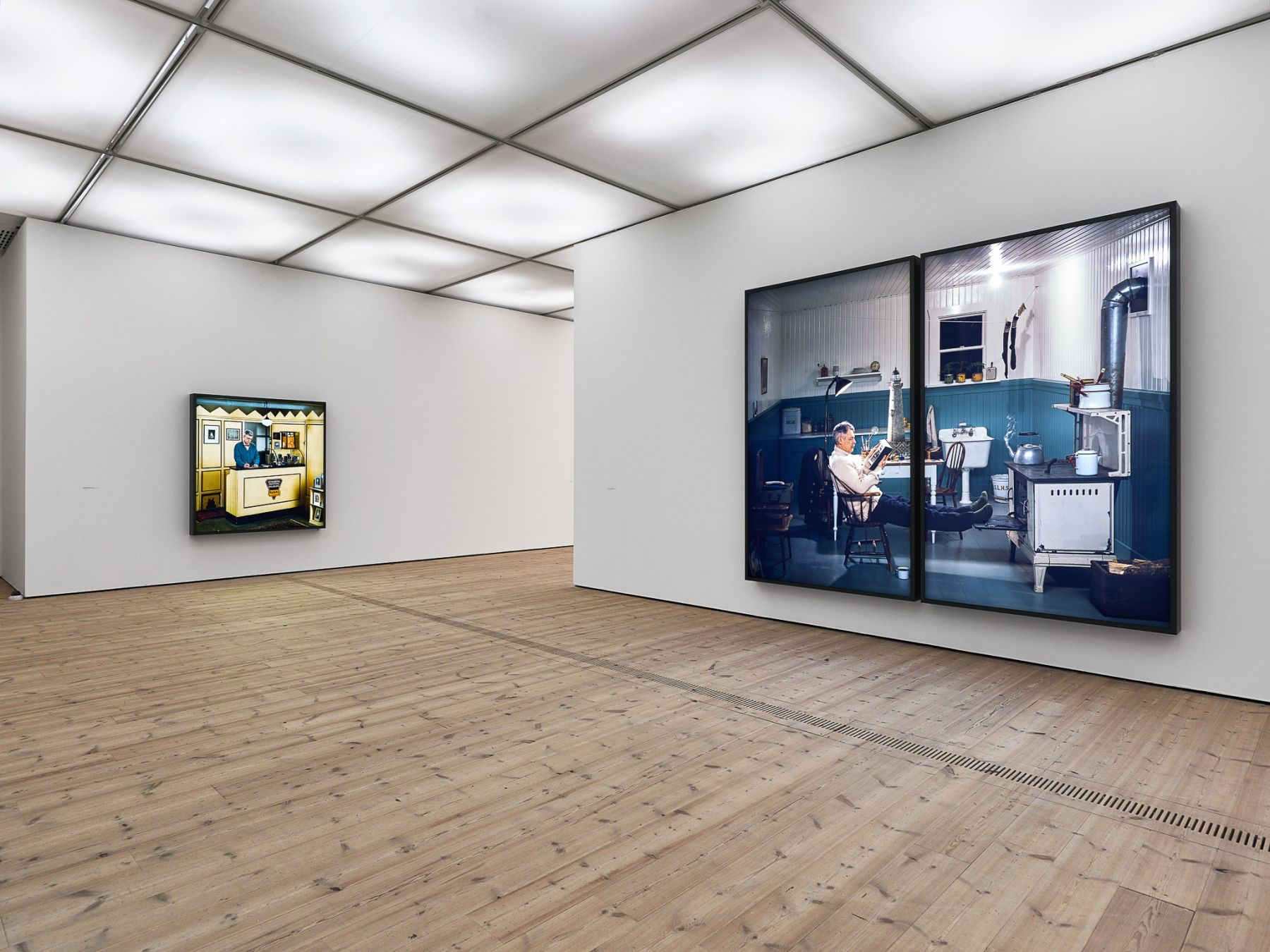 Installation view: Rodney Graham, That's Not Me, 2017, BALTIC Centre for Contemporary Art, Gateshead