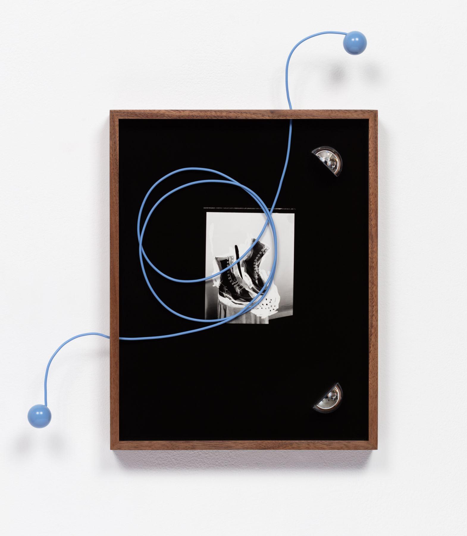 Elad Lassry, Untitled (Boots, Blue Cord), 2018
