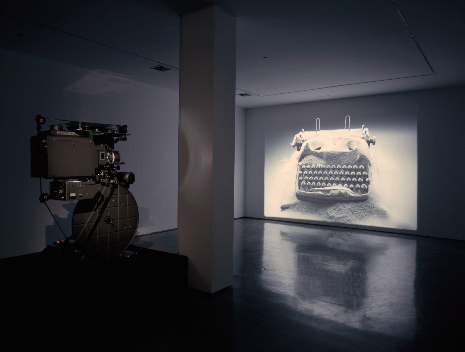 Rodney Graham, Rheinmetall / Victoria-8, 2003, Installation view: 303 Gallery, 2004