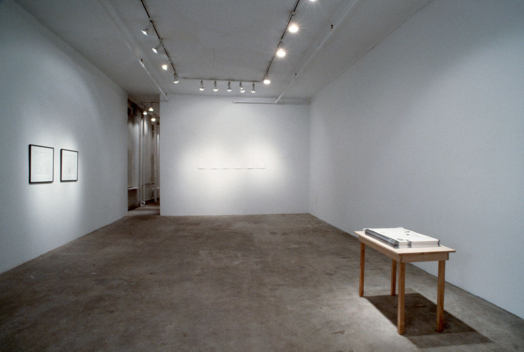 Hans-Peter Feldmann, Rodney Graham, Allen Ruppersberg, 303 Gallery, 1993
